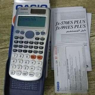 Casio Fx-991ES calculator