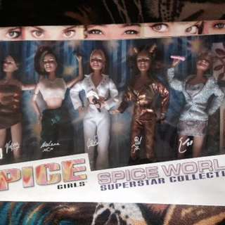 Spice Girls Dolls Collection