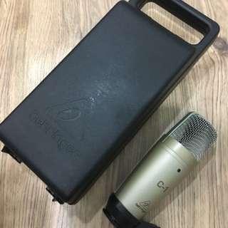 Behringer C-1 condenser mic