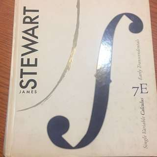 7th ed. Stewart Single Variable Calculus + Solution manual