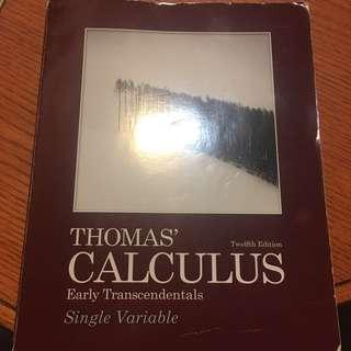 Thomas' Calculus 12th ed.