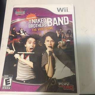 Naked Brothers Band- Singing Game Wii