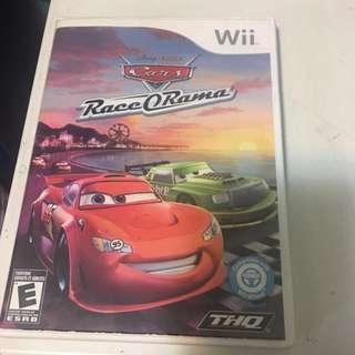 Cars Race O Rama- Wii Game