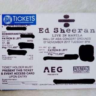 Ed Sheeran Live in MNL