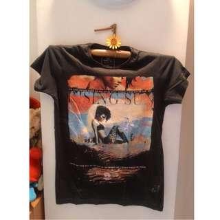 Cotton On Black (Printed) casual tshirt