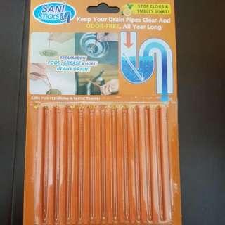 🚚 水管清潔條SANI stick