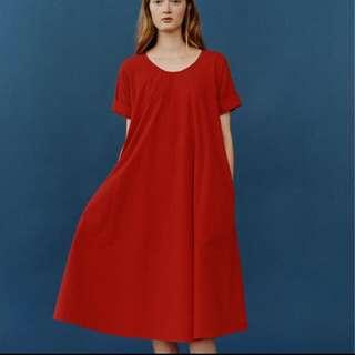 丨Uniqlo LEMAIRE 法國精品聯名黑色洋裝丨