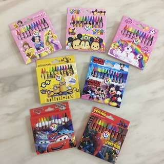 Crayon for kids Party Goodies bag and Christmas gift on sales