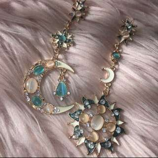 Sun/Star and Moon Earrings