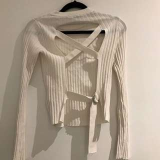 Topshop knit top XS never worn