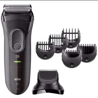 Braun Series 3 - 3000BT 3-in-1 Shaver