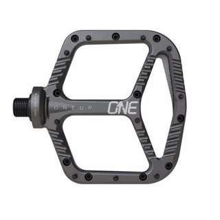 OneUp Components Aluminium Flat MTB Pedals (Grey)