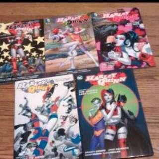 Harley Quinn graphic novels