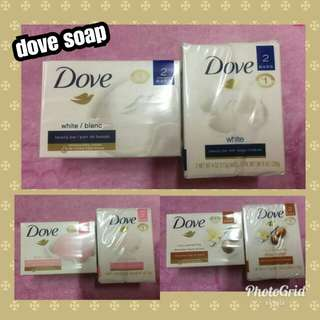 Dove body soap (2 in one box )