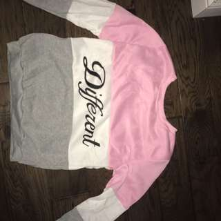 """different"" Crew neck"