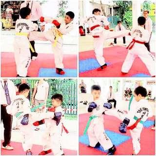 TAEKWONDO Class @ Jurong. WE TEACH RESPECT! Age >6