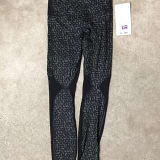 New Lululemon leggings with mesh
