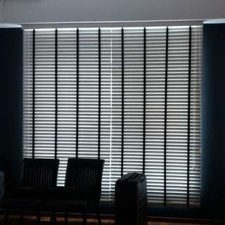 Supply install track,rod,blinds and curtain