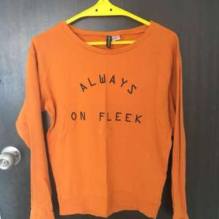 Always on fleek sweatshirt, winter top, cotton shirt