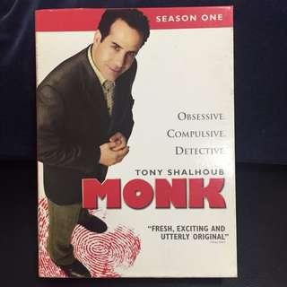 Monk - Season 1 (DVD Box Set) (Original)