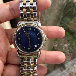 Tissot Authentic 2 Tone Mens Quartz Watch