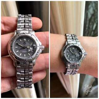 Tag Heuer Authentic All Steel Gray Face Ladies Watch