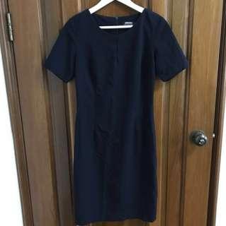Work dress dark blue
