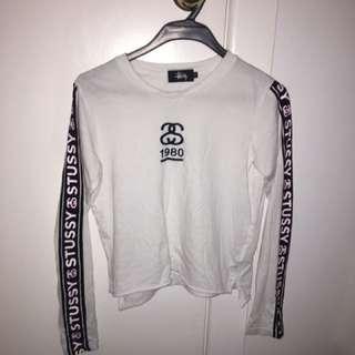 STUSSY cropped shirt | size 6