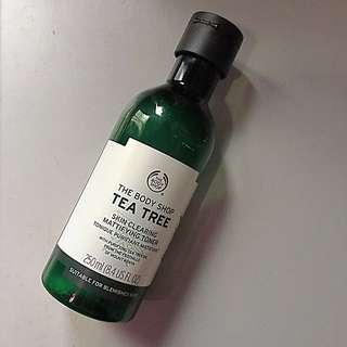 FURTHER REDUCED Preloved The Body Shop Tea Tree Toner