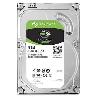 SEAGATE 4000GB (4TB) BARRACUDA SATA 5900RPM 64MB