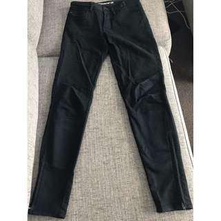 Black Skinny 7/8 Jeans