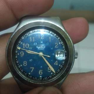 Swatch irony 1993 tanpa strap
