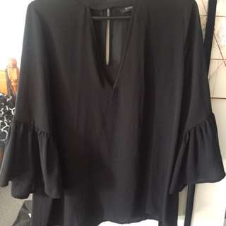 Glassons black Top size 10