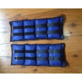 2x 2kg Ankle Weights