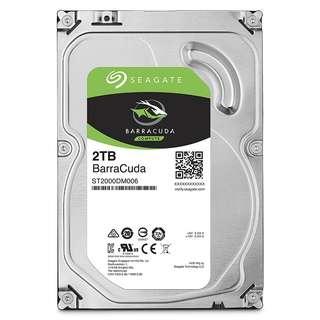 SEAGATE 2000GB (2TB) BARRACUDA35 SATA 7200RPM 64MB