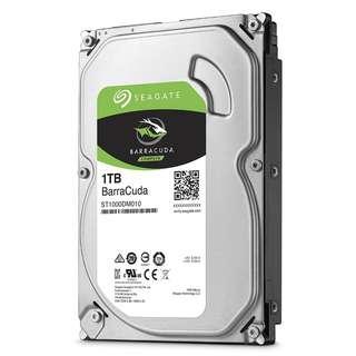 SEAGATE 1000GB (1TB) BARRACUDA35 SATA 7200RPM 64MB