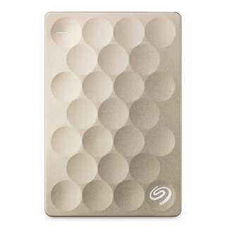 Seagate® Backup Plus Ultra Slim- Gold 1TB