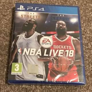 I'm looking for nba live 18 ps4