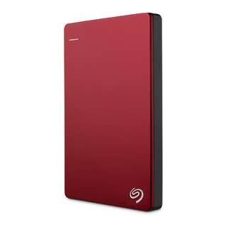 Seagate® Backup Plus Slim - Red 1TB