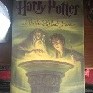 Harry Potter And The Half Blood Prince (hardbound)