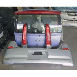 Daihatsu Mira Avy RS / Perodua Viva bodykit (Rear bonnet + Tail Lamp + Rear Bumper)
