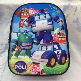 Robocar Poli 3D Backpack
