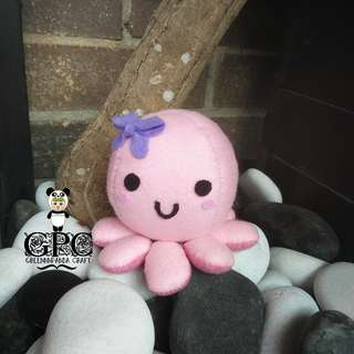 Kawaii Octopus Plushie (Small)