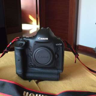 Canon 1D with full kit