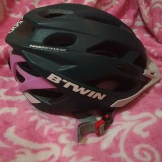 **REPRICED** B-twin MTB helmet