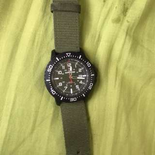 Timex Expedition 軍錶綠帶 90%new