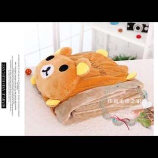 2 in 1 Character Pillow Blanket