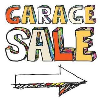 👜👗👒 GARAGE SALE 👒👗👜