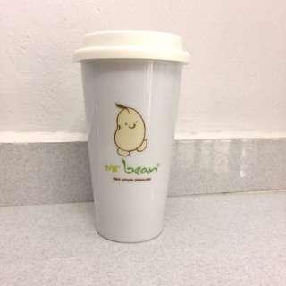 Mr Bean Ceramic Mug/Cup With Lid