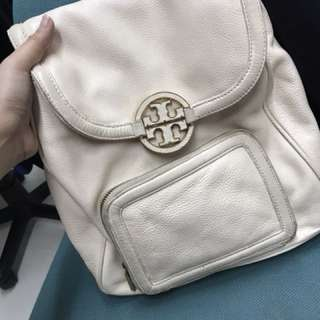 Authetic Tory Burch Leather Backpack